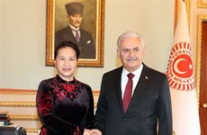 Vietnamese, Turkish top legislators hold talks