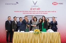 Vinfast signs 950 million USD agreement for machinery
