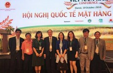 Hapro strikes rice export deals at world rice conference
