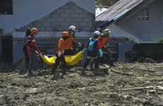 Indonesia extends search for victims of September deadly disaster
