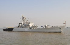 Indian, Indonesian navies conduct joint patrol at sea