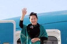 NA Chairwoman wraps up trip to attend MSEAP 3, Turkey visit