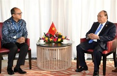 PM discusses trade facilitation with Indonesia's business leader