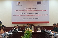 EU-supported justice, legal empowerment programme launched