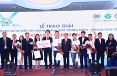Vietnamese team wins int'l smart city initiative competition