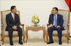 Deputy PM urges Shinhan Card to develop fintech in Vietnam