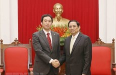 Japanese Communist Party delegation visits Vietnam