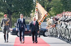 Prime Minister Nguyen Xuan Phuc welcomed in Austria