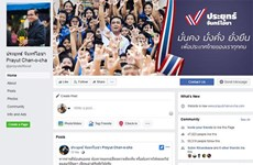Thai PM begins election campaign on social media