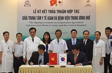Hue hospital, RoK's medical centre cooperate in liver transplant