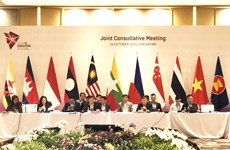 ASEAN holds Joint Consultative Meeting to prepare for 33rd Summit