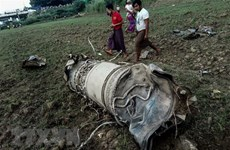 Three killed in military jet fighters crash in Myanmar
