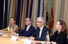 PM meets ministers of Belgium's Flanders, Wallonia regions