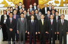 Deputy PM hosts leaders of AMMD-6 delegations