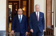 PM Nguyen Xuan Phuc meets with Belgian King Philippe