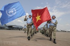 Vietnam's peacekeeping mission in South Sudan grabs int'l headlines