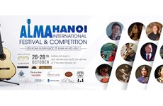 Alma Hanoi Int'l Festival to take place this weekend