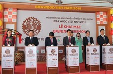 International wood fair opens in Binh Duong