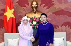 Top legislator welcomes Malaysia's Deputy Prime Minister