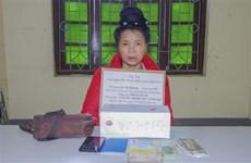 Smuggler of 5,000 drug pills arrested in Dien Bien
