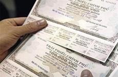 Latest G-bond auction raises 85.6 million USD
