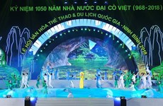 Ninh Binh opens national culture, sports, tourism festival
