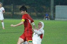 Vietnam tops Group E at AFC U19 women's champs