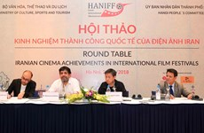 Vietnam, Iran exchange cinema development experience