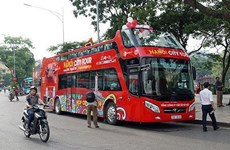 Double-decker buses in Hanoi fail to attract tourists