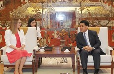 Hanoi, Wales step up education cooperation