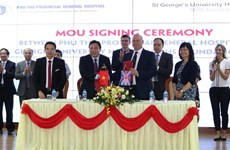 Vietnamese, British hospitals partner in stroke treatment