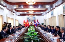 Vietnamese, Lao Party inspection agencies look to foster ties