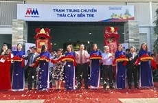 Ben Tre opens fruit, veg supply depot