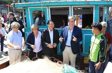 EP Fisheries Committee delegation visits northern port