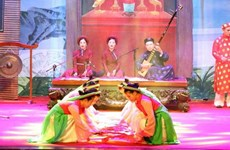 National Ca Tru Festival opens in Ha Tinh