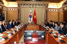 HCM City, Busan boost cooperation for mutual development