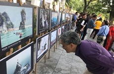 Over 100 best heritage photos on display in Hanoi