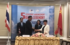 Thailand and China ink sister port pact