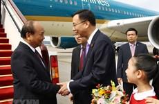 Prime Minister arrives in Shanghai for CIIE 2018