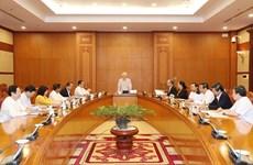 Top leader stresses strategic-level personnel planning