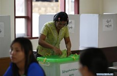 Myanmar's ruling party wins parliamentary by-election