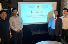 Third club for Vietnamese scientists in Australia set up