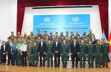 Vietnam hosts training course for UN peacekeeping engineers