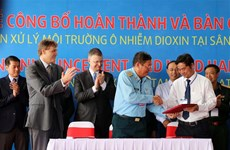 Dioxin detoxification project in Da Nang airport completed