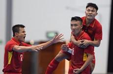 Vietnam beats Timor Leste 8-1 at AFF Futsal Champs