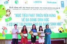 Youth raise voices to help biodiversity protection
