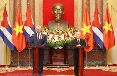 Vietnam, Cuba resolved to work for sustainable cooperation