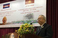 Vietnam, Cambodia step up friendship, cooperation