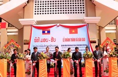 School funded by Vietnamese Party leader handed over to Laos
