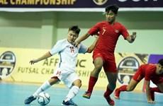 Vietnam ranks fourth at AFF futsal champs